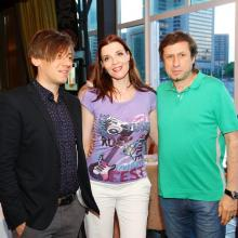 Ruslan Alehno, Maria Tarasevich and Alex Vulih