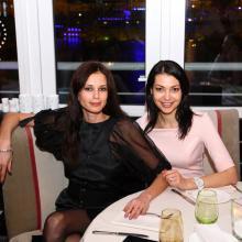 Annushka Daeva and Ekaterina Kazakova