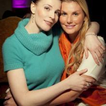 Masha Tarasevich with Irson Kudekova