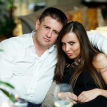 Константин Романов с супругой