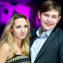Demian Danilov with friend