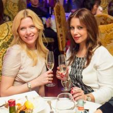 Oksana Trunova with Ekaterina Shmarkova