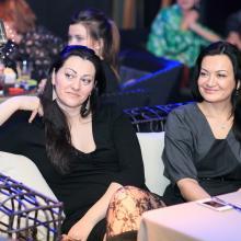 Natalia Zizak with friend