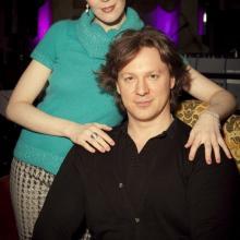 Vadim Eilenkrig and Masha Tarasevich