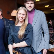 Nadejda Feyalo with Dmitry Klyazichev