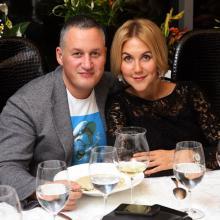 Konstantin Mahov with Julia Drachova