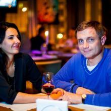 Slava Skirnevskiy with friend