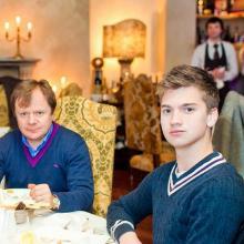 Igor Butman with son