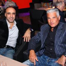 Igor Altern with friend