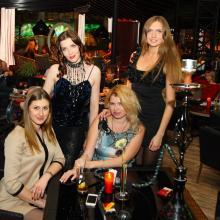 Maria Tarasevuch with friends