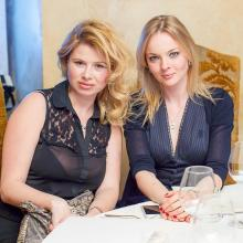 Irina Grigorieva with Anna Shahray