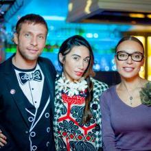 Artur Archi, Valerya Lero and Snejanna Kovaleva