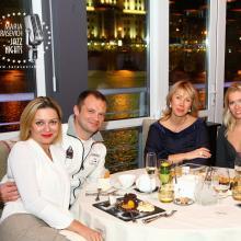 Maria and Alex Kniazevi with friends