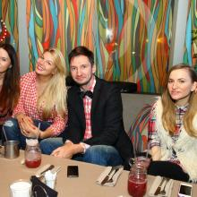 Oleg Sharpaty, Viktoria Slobodyan and friends