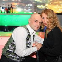 Dimitri Peretz with Veronika Danilova