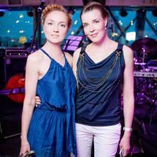 Anna Buturlina with Maria Tarasevich