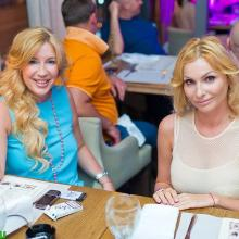 Anna Kudrina and Nastya Makedonskaya