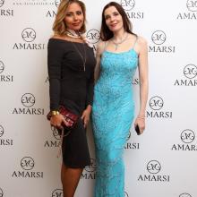 Oksana Trunova with Maria Tarasevich