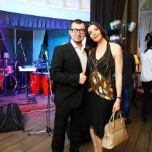 Alexandor Losev with Maria Tarasevich