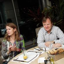 Oksana and Igor Butman