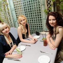 Viktoriya Grishko with friends