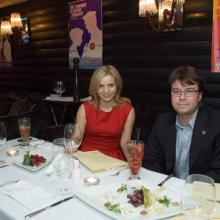 Вадим Куликов с подругой Анной