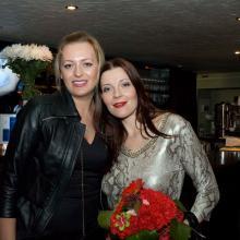 Ekaterina Fezchenko with Maria