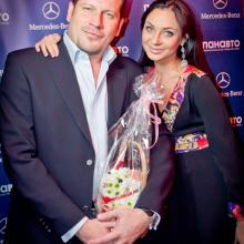 Mr. Svirskiy with wife