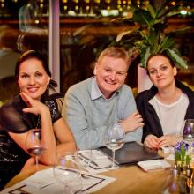 Нина Шацкая с друзьями