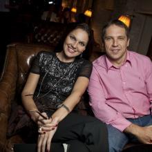 Nina Shatskaya with Botis Gukaylo
