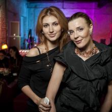 Alena Vasilyeva with Masha Tarasevich