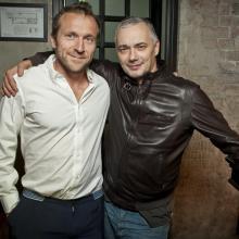 Gya Ambramishvili with partner