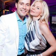 Даниил Федоров с подругой
