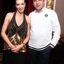 Maria Tarasevich with Boris Gukailo