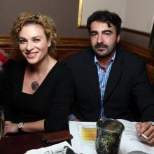 Julia Evdokimova with friend
