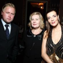 Мария Тарасевич,Елена Томилина с сыном