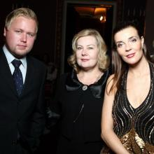 Masha Tarasevich, Elena Tomilina with son