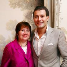 Даниил Федеров с мамой