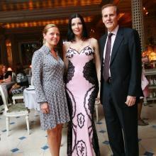 Galina Morrell, Maria, Steve Morrell