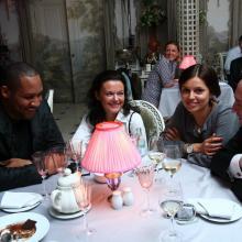 Эдди Батлер с друзьями