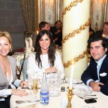 Alla Ilyena, Herry de Monspe with friend