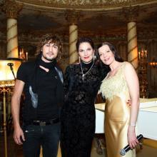 Dima Bilan,Maria Tarasevich, Nina Shatskaya
