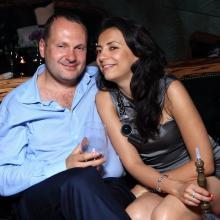Sergey Balatskey with wife