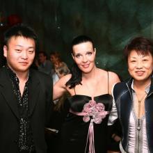 Мария Тарасевич с друзьями