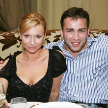 Анастасия Македонская с другом