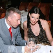 Вице президент Норильский Никель В. Кедринский и Мария