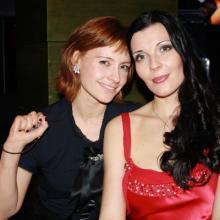 Евгения Гусева и Мария Тарасевич